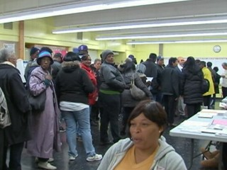 Watch: Long Voting Lines in NYC