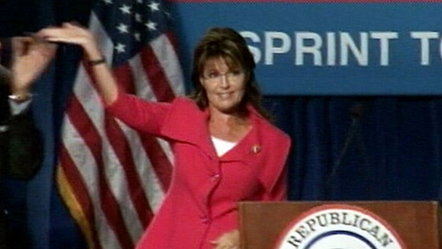 VIDEO: Former Alaska governor announces that she will not seek the presidency.