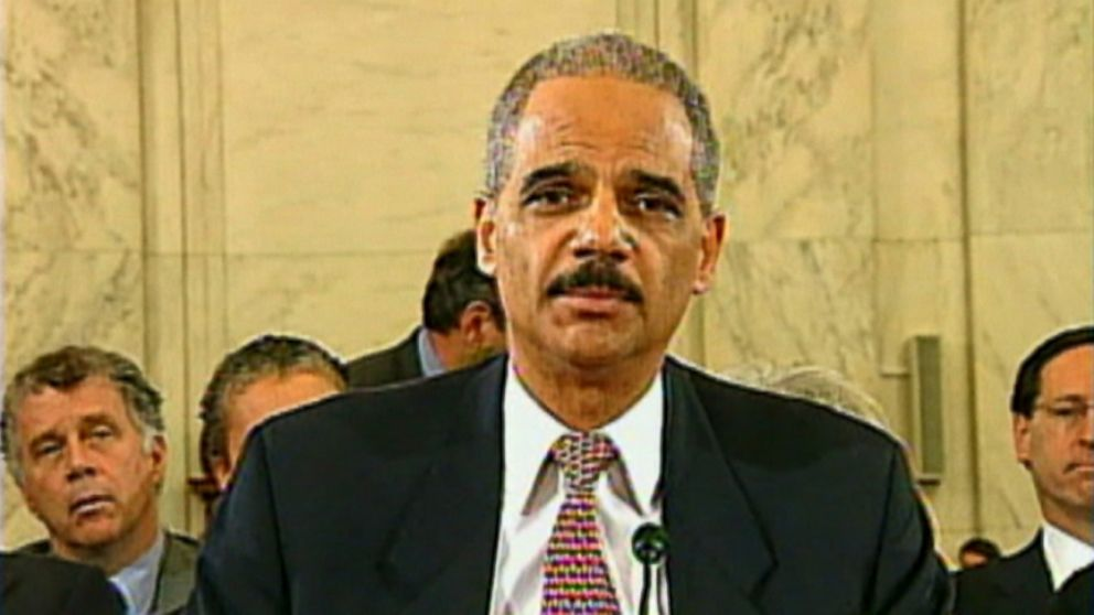 eric holder faces tough questions at confirmation hearing video