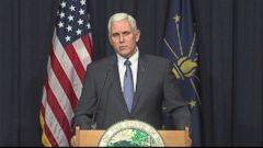 VIDEO: Gov. Mike Pence (R-Ind.) signed the Religious Freedom Restoration Act into law, which models federal legislation meant to protect businesses from being forced to provide services they object to based on religious grounds.