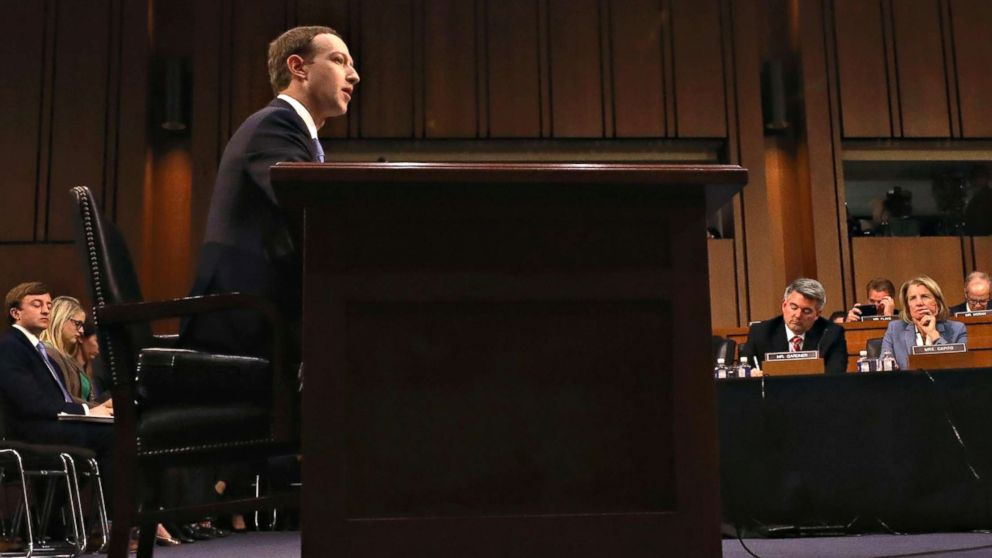Zuckerberg faces congressional grilling over Facebook user privacy, 2016 election