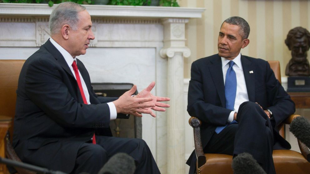 PHOTO: President Barack Obama, right, meets with Israels Prime Minister Benjamin Netanyahu in the Oval Office of the White House in Washington, March 3, 2014.