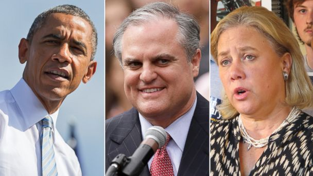 AP obama pryor landrieu jtm 141014 16x9 608 Trouble Looms for Obama, Democrats with Election Day 2014 Approaching