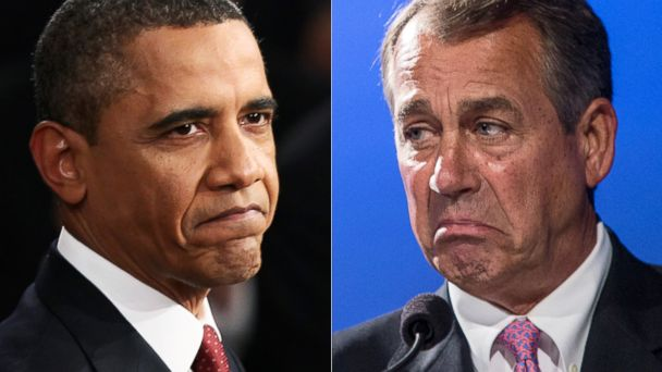 GTY obama boehner sk 140714 16x9 608 More than Half Back Immigration Plan; Ratings Weak for Obama, GOP Leaders