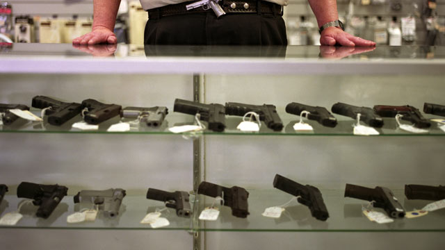 PHOTO: There are a variety of gun laws being proposed in various states.