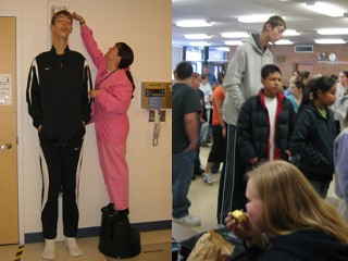 Brenden is the tallest teenagers in the world. thumbnail