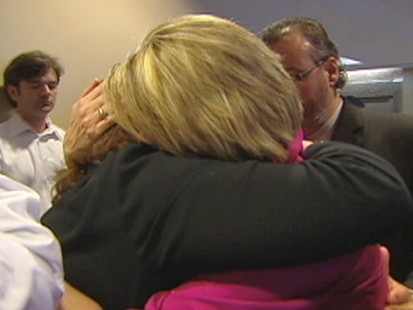 VIDEO: Grieving Mom Embraces Killers Family