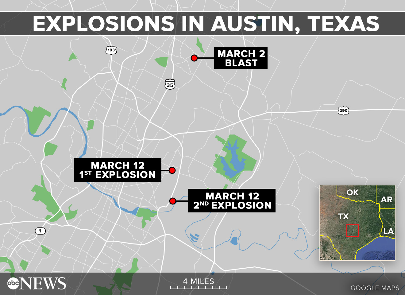 Austin rocked by 3rd explosion in 11 days - ABC News