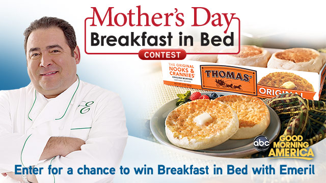 Emerils Breakfast in Bed Contest