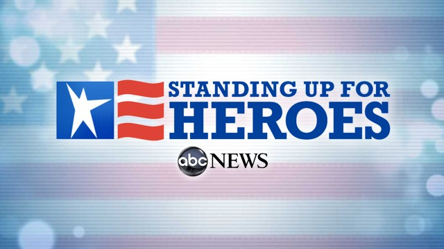 standing up for heroes 111111 wg ABC News to Report Standing Up for Heroes Beginning on Veterans Day