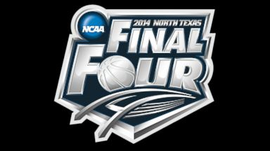 PHOTO: The 2014 NCAA Final Four logo.