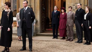 "PHOTO: The cast of ""Downton Abbey."""