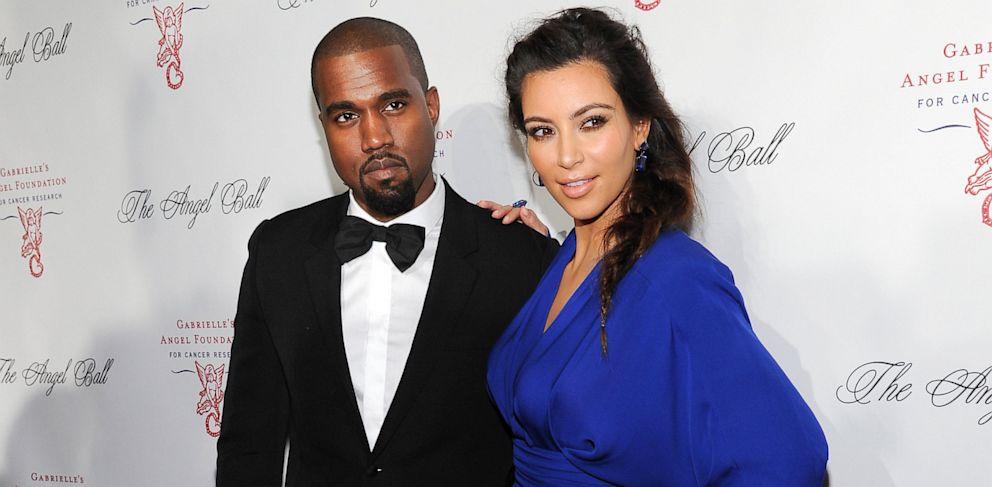 PHOTO: Kanye West and Kim Kardashian