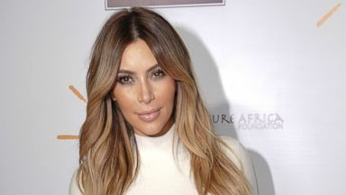 PHOTO: Kim Kardashian arrives at the inaugural Dream for Future Africa Foundation Gala at Spago, Oct. 24, 2013 in Beverly Hills, Calif.