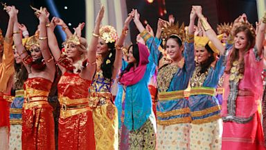 PHOTO: Miss World Pageant contestants