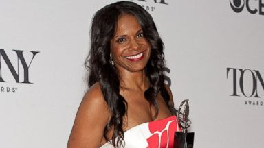 PHOTO: Audra McDonald poses in the press room during the American Theatre Wings 68th Annual Tony Awards at Radio City Music Hall, June 8, 2014, in New York.