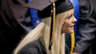 PHOTO: Elin Nordegren is seen during commencement ceremonies at Rollins College in Winter Park, Fla., May 10, 2014.