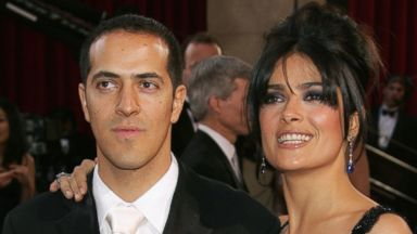PHOTO: Sami Hayek and sister, actress Salma Hayek, arrive at the 77th Annual Academy Awards at the Kodak Theater, Feb. 27, 2005 in Hollywood, Calif.