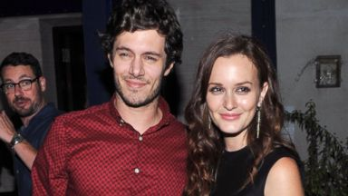"PHOTO: Adam Brody and Leighton Meester attend the after party for The Cinema Society screening of ""The Oranges,"" Sept. 14, 2012, in New York City."