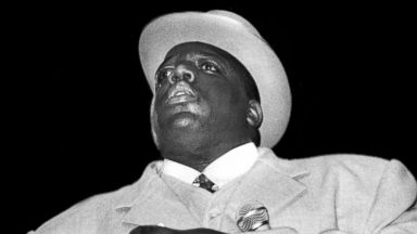 PHOTO: Notorious B.I.G. performing at the Meadowlands, N.J., June 29, 1995.