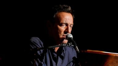 "PHOTO: Bruce Springsteen performs at the 7th annual ""Stand Up For Heroes"" event at Madison Square Garden, Nov.6, 2013 in New York."