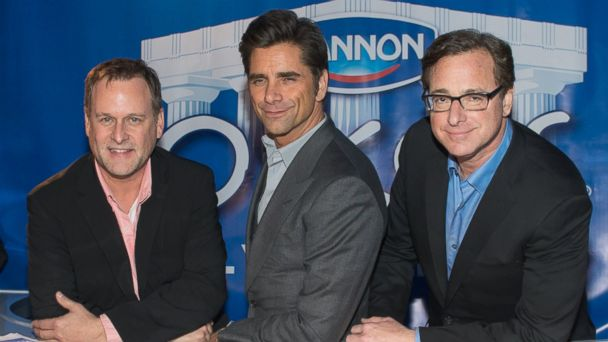 GTY dannon full house tk 140130 16x9 608 Full House Cast Reunites to Ease Jimmy Fallons Tonight Show Jitters