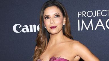 "PHOTO: Eva Longoria attends Canons ""Project Imaginat10n"" Film Festival opening night at Alice Tully Hall at Lincoln Center, Oct. 24, 2013, in New York."
