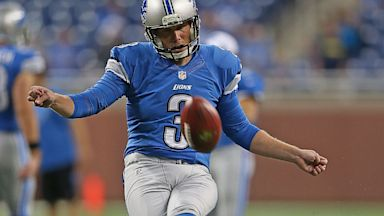 PHOTO: havard rugland, football, nfl, detroit lions