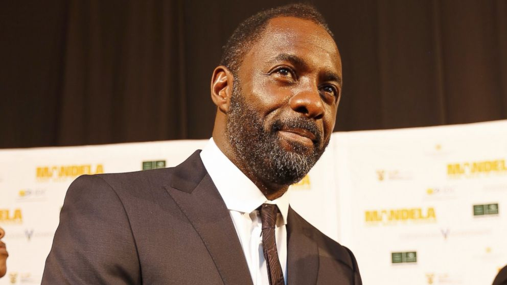"PHOTO: Idris Elba attends the premiere of ""Mandela: Long Walk to Freedom,"" Nov. 3, 2013, in Johannesburg."