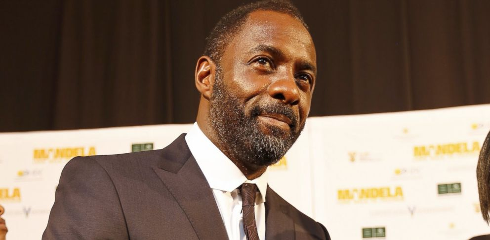 "PHOTO: Idris Elba attends the premiere of ""Mandela: Long Walk to Freedom,"" Nov. 3, 2013, in Johannesburg."