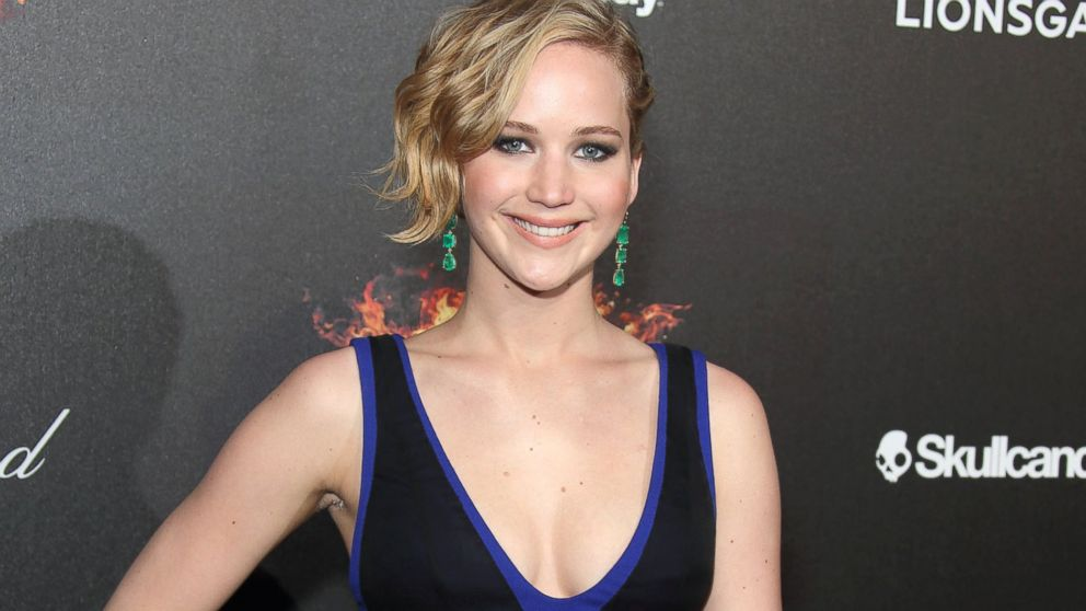 """PHOTO: Jennifer Lawrence attends the """"The Hunger Games: Mockingjay Part 1"""" party at the 67th Annual Cannes Film Festival, May 17, 2014, in Cannes, France."""