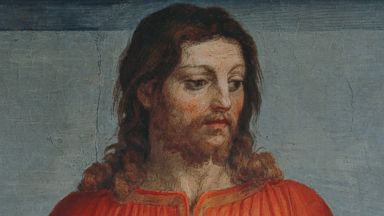 "PHOTO: Jesus Christ, left, is depicted in ""The Last Supper"" by Andrea del Sarto in this 16th century fresco."