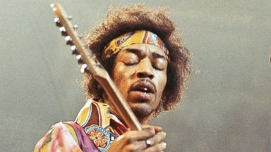 PHOTO: Jimi Hendricks performs onstage, Feb. 24, 1969.