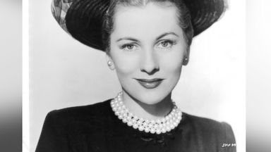 PHOTO: Joan Fontaine in publicity portrait for the film A Certain Smile, 1958