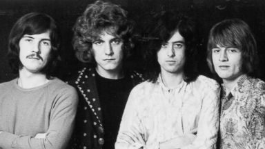 PHOTO: From left, John Bonham, Robert Plant, Jimmy Page, and John Paul Jones of Led Zeppelin are pictured in 1968.