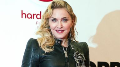 PHOTO: Madonna arrives to the opening of Hard Candy Fitness, Oct. 17, 2013, in Berlin.
