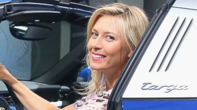 PHOTO: Maria Sharapova is pictured on April 19, 2014 in Stuttgart, Germany.