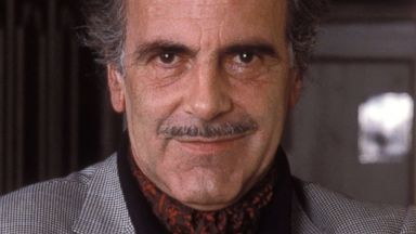 "PHOTO: Maximilian Schell poses for a portrait session on Jan. 9, 1986, to promote his NBC miniseries ""Peter the Great."""