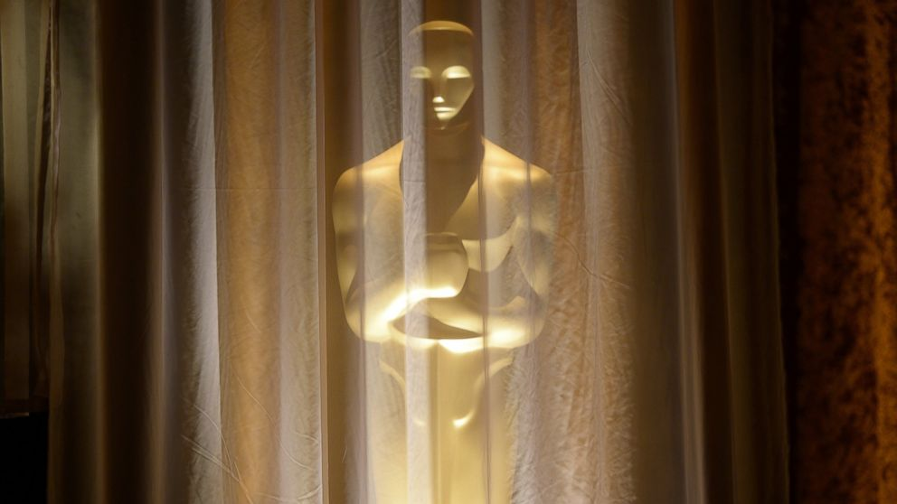 PHOTO: An Oscar statue is seen at the 2013 Governors Awards, at the Hollywood and Highland Center in Hollywood, Calif., Nov. 16, 2013.