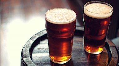 PHOTO: Two pints of beer