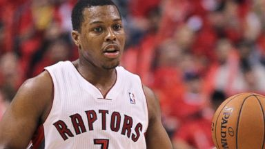PHOTO: Kyle Lowry of the Toronto Raptors is pictured on May 4, 2014 in Toronto, Canada.
