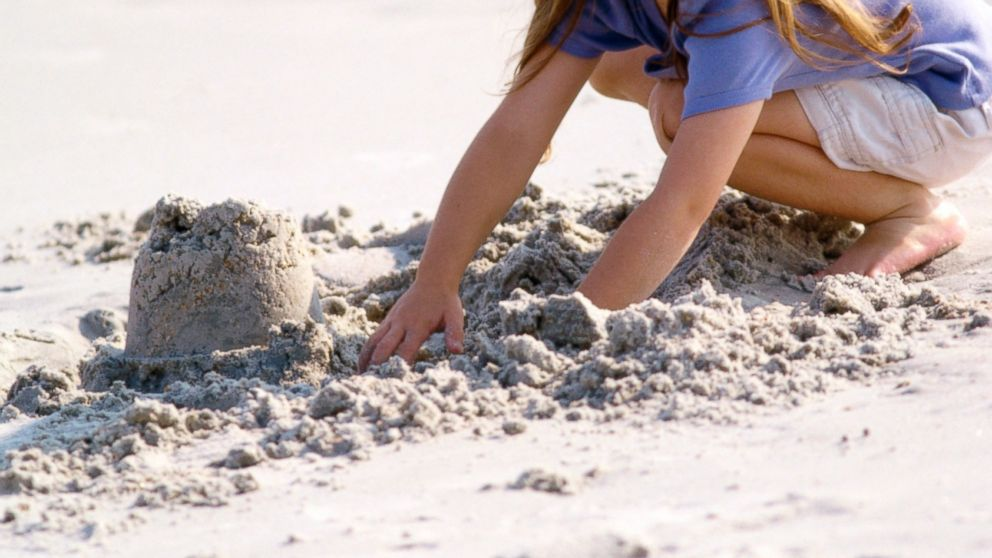 PHOTO: ts important to be careful when digging holes and tunnels in the sand when you visit the beach.