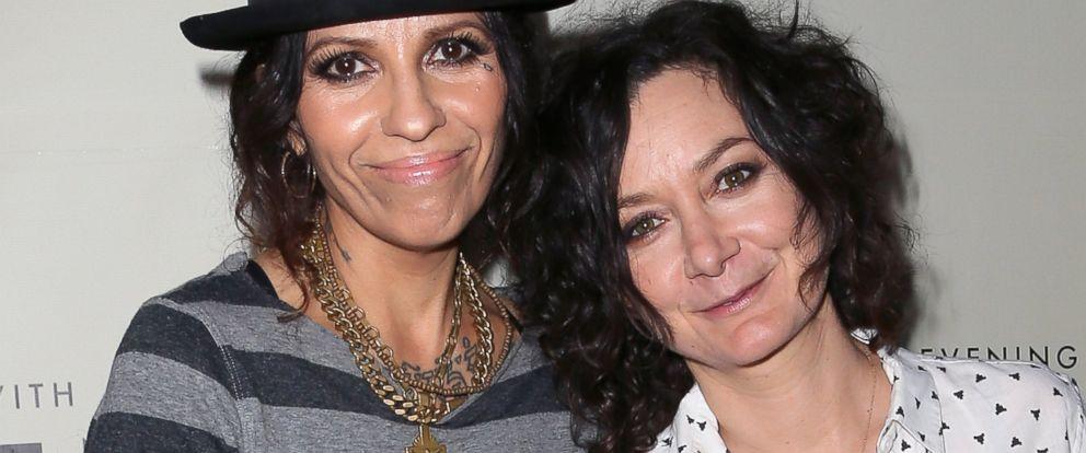 PHOTO: Linda Perry and actress Sara Gilbert