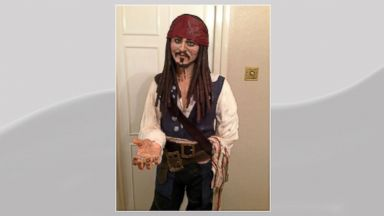 PHOTO: A Facebook cake creator posted the recent accomplishment of a 5-foot tall Captain Jack Sparrow Cake, Nov. 11, 2013.