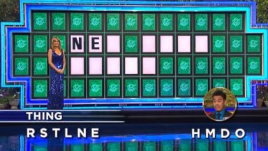 PHOTO: Wheel of Fortune contestant solved a nearly impossible puzzle with just 2 letters.
