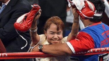 PHOTO: Dionesia Dapidran-Pacquiao, Manny Pacquiaos mother
