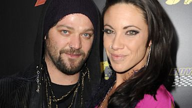 PHOTO: Actor Bam Margera and Nicole Boyd arrive at the premiere of Lionsgate Films The Last Stand at Graumans Chinese Theatre on January 14, 2013 in Hollywood, California.
