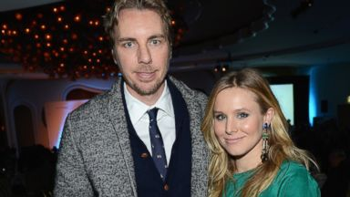 PHOTO: Actors Dax Shepard and Kristen Bell attends the Cinema For Peace 2013 Gala For Humanity Honoring Ben Affleck and The Eastern Congo Initiative at Beverly Hills Hotel on January 11, 2013 in Beverly Hills, Calif.