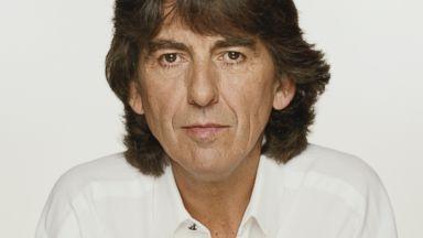 PHOTO: Guitarist George Harrison, September 1991.