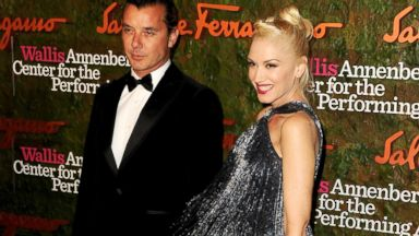 PHOTO: Musician Gavin Rossdale (L) and singer Gwen Stefani arrive at the Wallis Annenberg Center For The Performing Arts Gala at the Wallis Annenberg Center For The Performing Arts on October 17, 2013 in Beverly Hills, Calif.